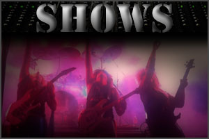 Hair Force One upcoming shows